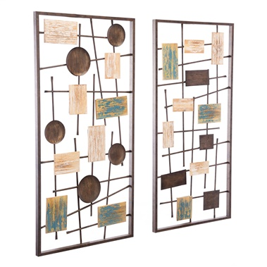 Abstract Wall Decor (Set of 2)