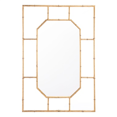 Bamboo Rectangular Mirror