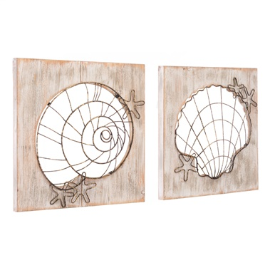 Beach Wall Decor (Set of 2)