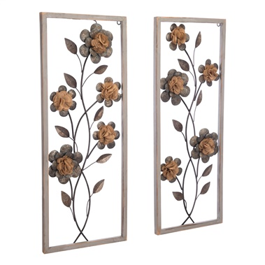 Daisy Wall Decor (Set of 2)