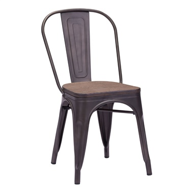 Elio Wood Dining Chair