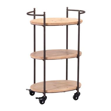 Tri Level Bar Cart