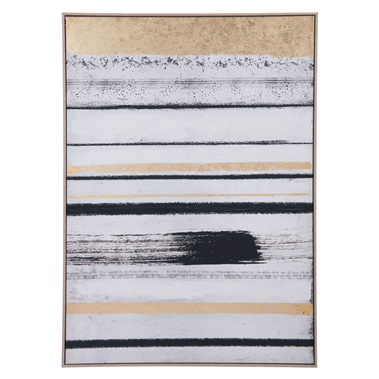 Vertical Brush Strokes Canvas