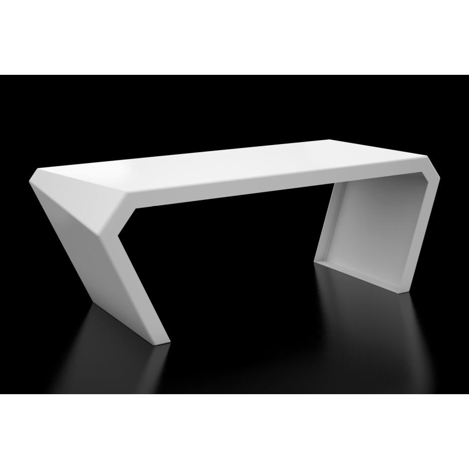 Pac Desk - Brilliant White
