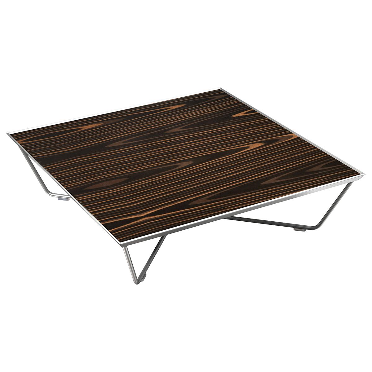 Amazon Com Black Steel Square Coffee Table: Cale Square Coffee Table
