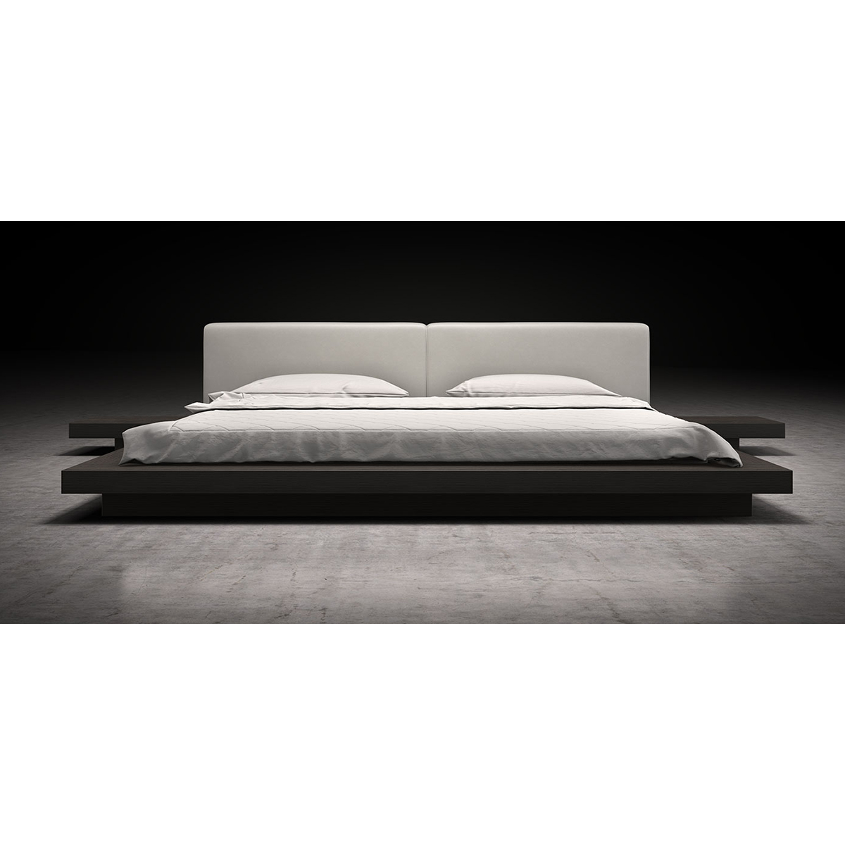 Modloft worth platform bed bedroom modern platform bed queen impera modern platform bedroom - Modloft worth platform bed king ...