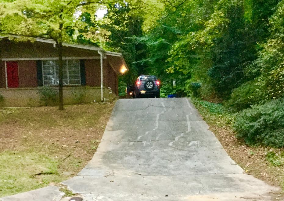 Innclusive for Steep driveway construction