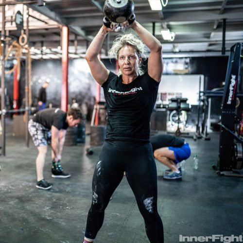 InnerFight Kettlebell Swing Charolette B