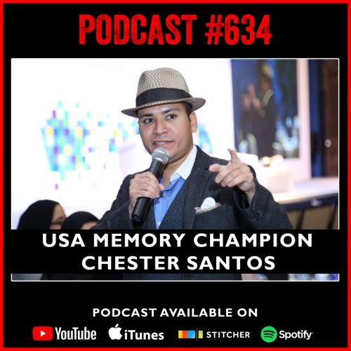 #634: USA memory champion Chester Santos
