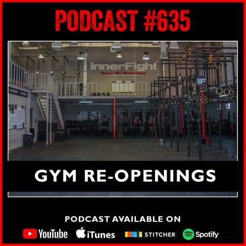 #635: Gym re-openings