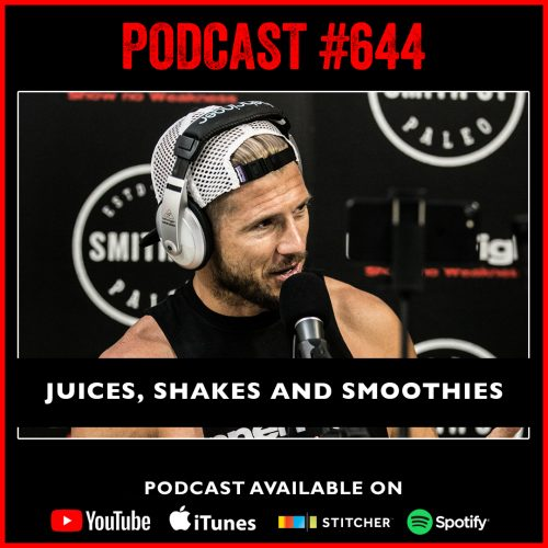 #644 Juices, shakes and smoothies