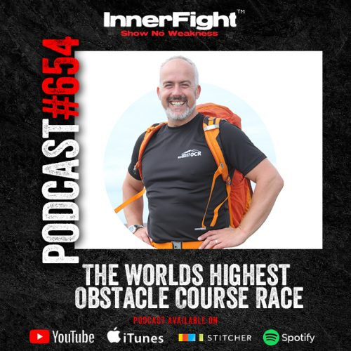 #654 :The worlds highest Obstacle Course Race