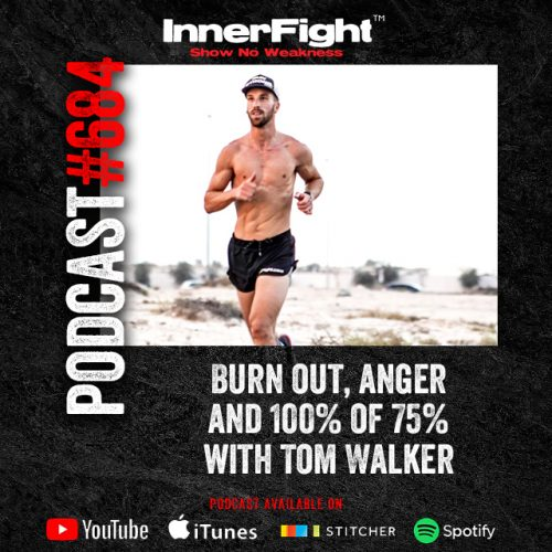 #684: Burn out, anger and 100% of 75% with Tom Walker