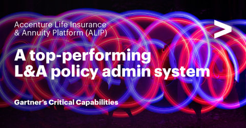 Accenture Life Insurance & Annuity Platform: A top performing L&A policy admin system (Graphic: Business Wire)