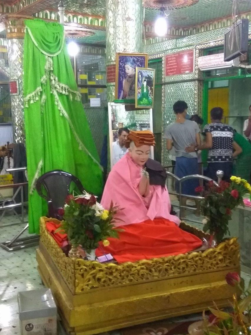 Mya Nan Nwe at Botahtuang Pagoda Yangon Myanmar