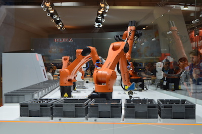 KUKA product at the Hannover Messe 2018