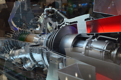 Hannover Messe 2018 - gas turbine