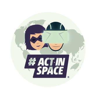 Medium actinspace logo