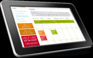Schizophrenia Society mobile responsive .NET CMS non-profit site toronto canada