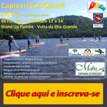 I Volta SUP da Ilha Grande Mabu Eco Resort Capivar