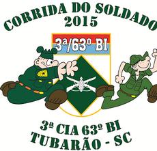 Corrida do Soldado 2015 - 3ª Cia - 63º BI