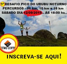 1ª Desafio Pico do Urubu Noturno