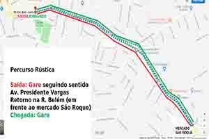 Percurso Meia Maratona Rustica
