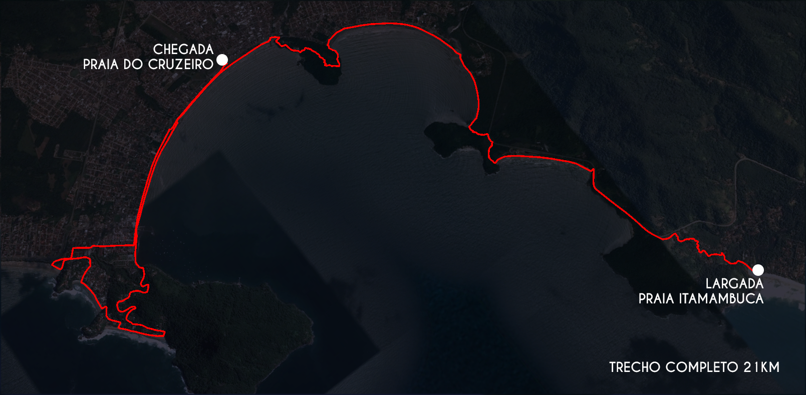 Mapa Completo 21K