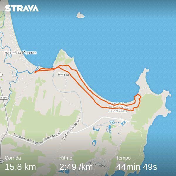 Percurso 16 km