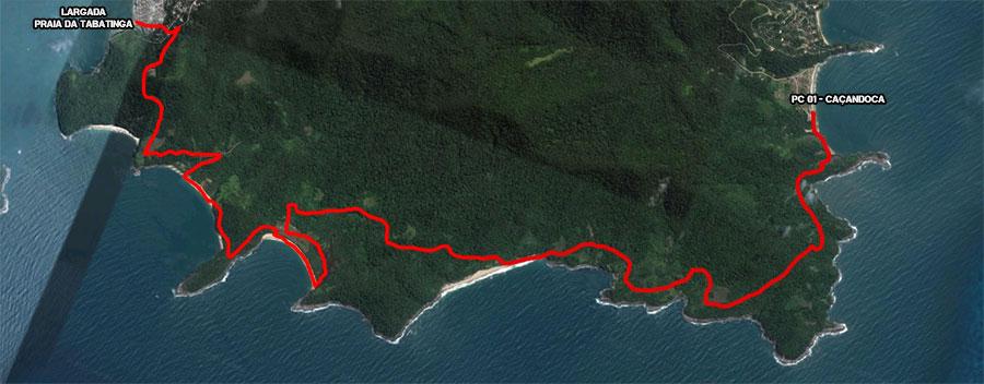 Mapa Largada