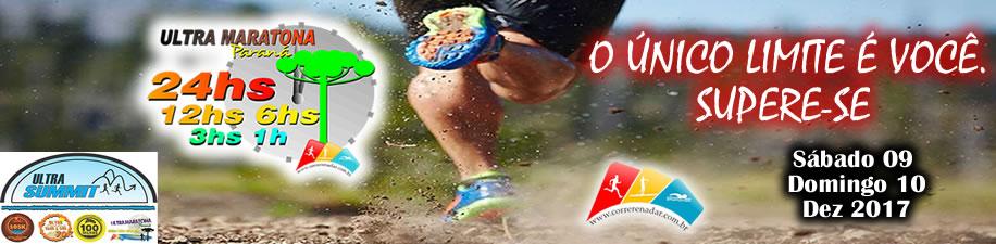 Ultra Maratona Paraná 24hs/12hs/6hs/3hs/1h