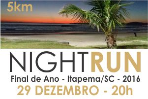 Night Run Final de Ano Itapema