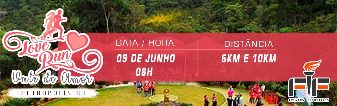 Corrida Love Run 2019