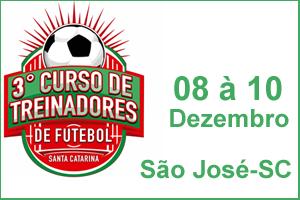 3° Curso de Treinadores de Futebol de Santa Catarina
