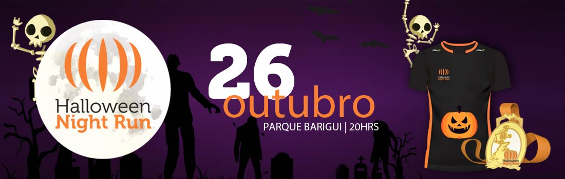 6ª Corrida Halloween Night Run 2018
