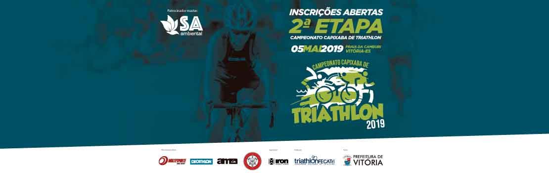 Campeonato Capixaba de Triathlon 2019 - 2ª Etapa