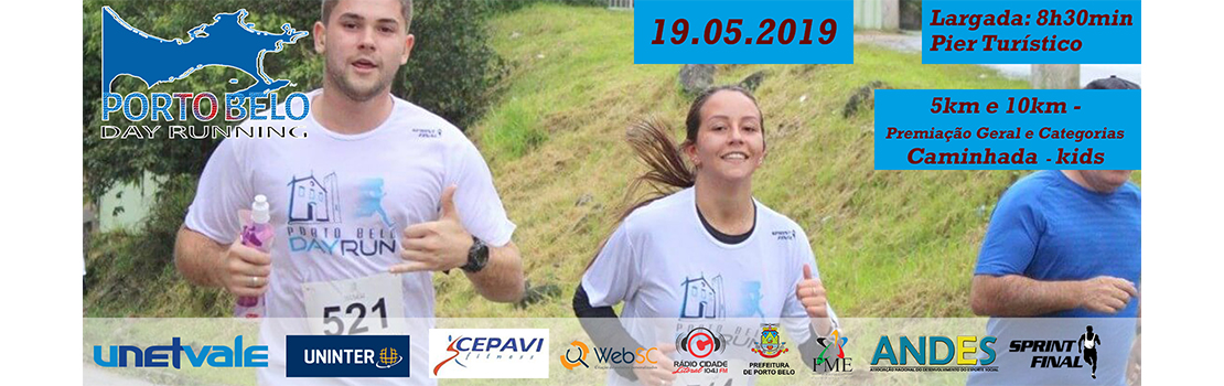 Day Running Porto Belo 2019