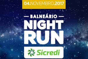 Balneário Night Run SICREDI 2017