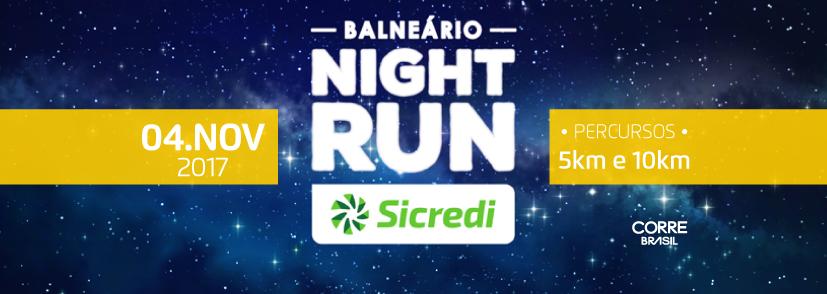 Balneário Night Run SICREDI 2017