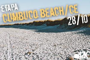 Desafio 42K - Praia de Cumbuco-CE
