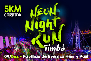 Neon Night Run Timbó 2017