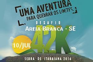 Desafio 42K - Serra de Itabaiana 2016