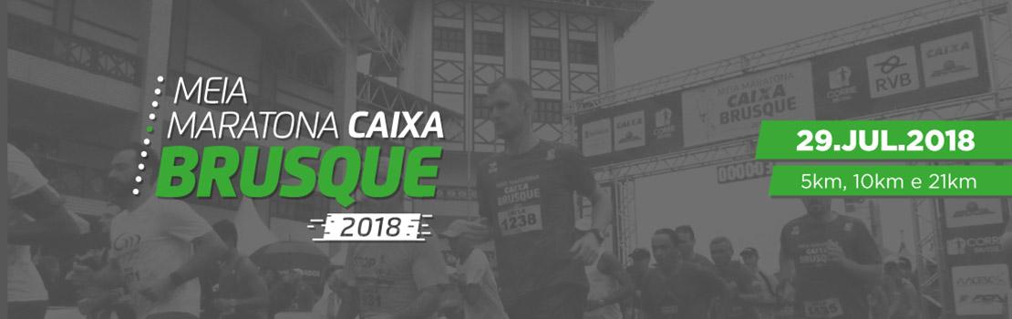 Meia Maratona Caixa Brusque 2018