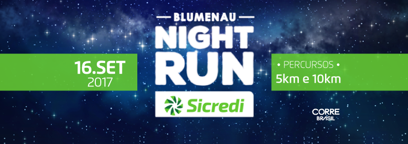 Blumenau Night Run SICREDI 2017