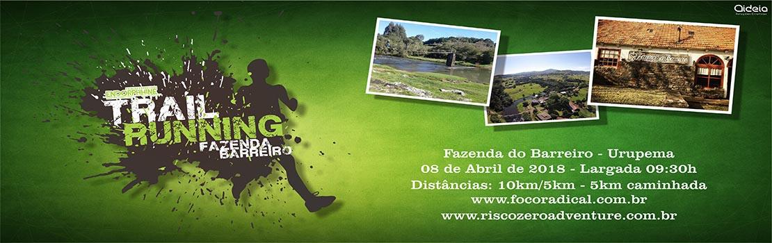 Endorphhine Trail Running - Fazenda do Barreiro 2018