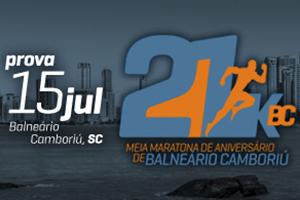 21k BC 4°Meia Maratona de Aniversário de Balneário Camboriú 2018