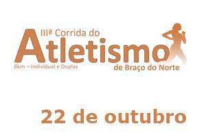 Corrida do Atletismo de Braço do Norte - 7ª Etapa do Circuito Cortuba 2016