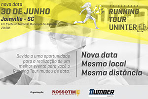 Running Tour Uninter - Etapa Joinville 2018