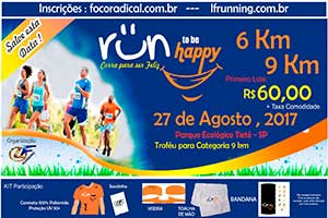 1ª Corrida To be Happy