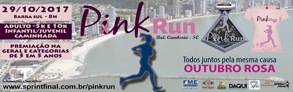 Pink Run Balneário Camboriú 2017